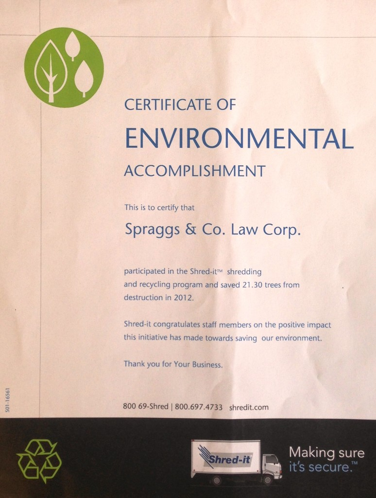 Spraggs & Co - Going Paperless