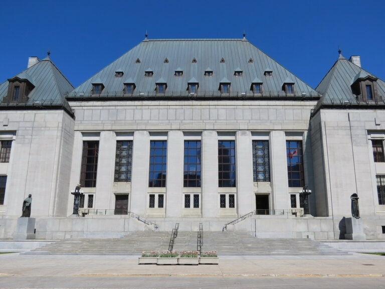 Supreme Court of Canada. Image by Robert Linsdell.